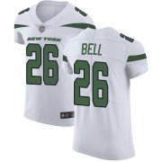 Wholesale Cheap Nike Jets #26 Le'Veon Bell White Men's Stitched NFL Vapor Untouchable Elite Jersey