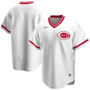 Wholesale Cheap Cincinnati Reds Nike Home Cooperstown Collection Team MLB Jersey White