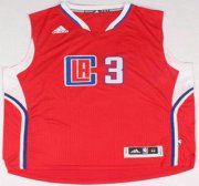 Wholesale Cheap Los Angeles Clippers #3 Chris Paul Revolution 30 Swingman 2015 New Red Jersey