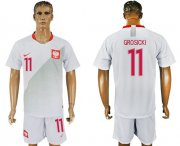 Wholesale Cheap Poland #11 Grosicki Home Soccer Country Jersey