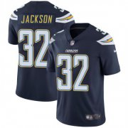 Wholesale Cheap Nike Chargers #32 Justin Jackson Navy Blue Team Color Men's Stitched NFL Vapor Untouchable Limited Jersey