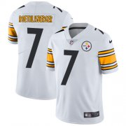 Wholesale Cheap Nike Steelers #7 Ben Roethlisberger White Youth Stitched NFL Vapor Untouchable Limited Jersey