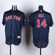 Wholesale Cheap Red Sox #14 Jim Rice Navy Blue Flexbase Authentic Collection Stitched MLB Jersey