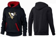 Wholesale Cheap Pittsburgh Penguins Pullover Hoodie Black & Red