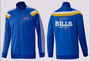 Wholesale Cheap NFL Buffalo Bills Victory Jacket Blue_3