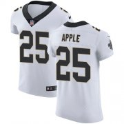 Wholesale Cheap Nike Saints #25 Eli Apple White Men's Stitched NFL Vapor Untouchable Elite Jersey