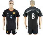 Wholesale Cheap Hull City #8 Huddlestone Away Soccer Club Jersey