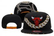 Wholesale Cheap NBA Chicago Bulls Snapback Ajustable Cap Hat DF 03-13_19