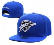 Wholesale Cheap NBA Oklahoma City Thunder Snapback Ajustable Cap Hat XDF 048