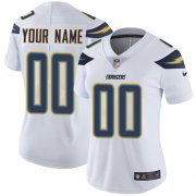 Wholesale Cheap Nike San Diego Chargers Customized White Stitched Vapor Untouchable Limited Women's NFL Jersey