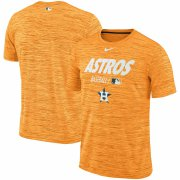 Wholesale Cheap Houston Astros Nike Authentic Collection Velocity Team Issue Performance T-Shirt Orange