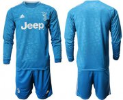 Wholesale Cheap Juventus Blank Third Long Sleeves Soccer Club Jersey