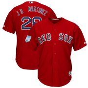 Wholesale Cheap Red Sox #28 J.D. Martinez Red 2019 Spring Training Cool Base Stitched MLB Jersey