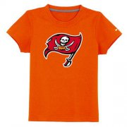 Wholesale Cheap Tampa Bay Buccaneers Sideline Legend Authentic Logo Youth T-Shirt Orange