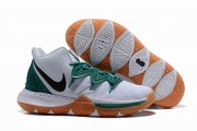 Wholesale Cheap Nike Kyire 5 White Green Black-logo