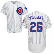Wholesale Cheap Cubs #26 Billy Williams White(Blue Strip) Flexbase Authentic Collection Stitched MLB Jersey