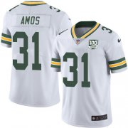 Wholesale Cheap Nike Packers #31 Adrian Amos White Men's 100th Season Stitched NFL Vapor Untouchable Limited Jersey