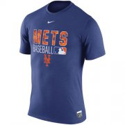 Wholesale Cheap New York Mets Nike 2016 AC Legend Team Issue 1.6 T-Shirt Royal