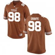 Wholesale Cheap Men's Texas Longhorns 98 Brian Orakpo Orange Nike College Jersey
