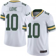 Wholesale Cheap Youth Green Bay Packers #10 Jordan Love White Limited Vapor Untouchable Jersey