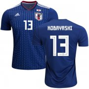 Wholesale Cheap Japan #13 Kobayashi Home Soccer Country Jersey