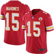 Wholesale Cheap Nike Chiefs #15 Patrick Mahomes Red Team Color Youth Stitched NFL Vapor Untouchable Limited Jersey