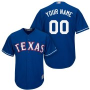 Wholesale Cheap Texas Rangers Majestic Cool Base Custom Jersey Royal