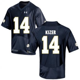 Wholesale Cheap Notre Dame Fighting Irish 14 DeShone Kizer Navy College Football Jersey