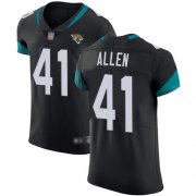 Wholesale Cheap Nike Jaguars #41 Josh Allen Black Team Color Men's Stitched NFL Vapor Untouchable Elite Jersey