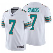 Wholesale Cheap Nike Dolphins #7 Jason Sanders White Alternate Men's Stitched NFL 100th Season Vapor Untouchable Limited Jersey