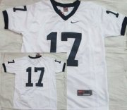 Wholesale Cheap Penn State Nittany Lions #17 White Jersey