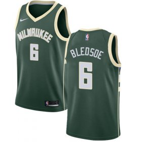 Cheap Youth Milwaukee Bucks #6 Eric Bledsoe Green Basketball Swingman Icon Edition Jersey