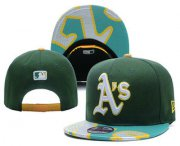 Wholesale Cheap MLB Oakland Athletics Snapback Ajustable Cap Hat 2
