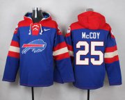 Wholesale Cheap Nike Bills #25 LeSean McCoy Royal Blue Player Pullover NFL Hoodie