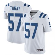 Wholesale Cheap Nike Colts #57 Kemoko Turay White Youth Stitched NFL Vapor Untouchable Limited Jersey