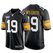 Wholesale Cheap Nike Steelers #19 Juju Smith-Schuster Super Bowl XIII 1978 Retro Game NFL Jersey Black