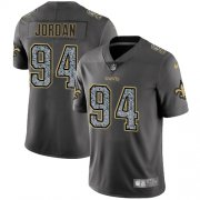 Wholesale Cheap Nike Saints #94 Cameron Jordan Gray Static Youth Stitched NFL Vapor Untouchable Limited Jersey