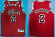 Wholesale Cheap Chicago Bulls #2 Nate Robinson Revolution 30 Swingman Red Jersey