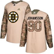 Wholesale Cheap Adidas Bruins #90 Marcus Johansson Camo Authentic 2017 Veterans Day Stitched NHL Jersey