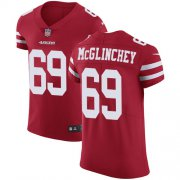 Wholesale Cheap Nike 49ers #69 Mike McGlinchey Red Team Color Men's Stitched NFL Vapor Untouchable Elite Jersey