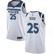 Wholesale Cheap Nike Timberwolves 25 Derrick White Swimgman Jersey