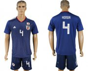 Wholesale Cheap Japan #4 Honda Home Soccer Country Jersey
