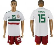 Wholesale Cheap Mexico #15 H.Moreno Away Soccer Country Jersey