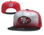 Wholesale Cheap San Francisco 49ers Snapback Ajustable Cap Hat YD 2
