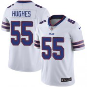 Wholesale Cheap Nike Bills #55 Jerry Hughes White Men's Stitched NFL Vapor Untouchable Limited Jersey