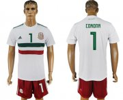 Wholesale Cheap Mexico #1 Corona Away Soccer Country Jersey