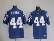 Wholesale Cheap Colts #44 Dallas Clark Blue Stitched NFL Jersey