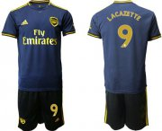 Wholesale Cheap Arsenal #9 Lacazette Third Soccer Club Jersey