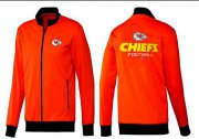 Wholesale NFL Kansas City Chiefs Victory Jacket Orange