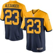 Wholesale Cheap Nike Packers #23 Jaire Alexander Navy Blue Alternate Youth Stitched NFL New Limited Jersey